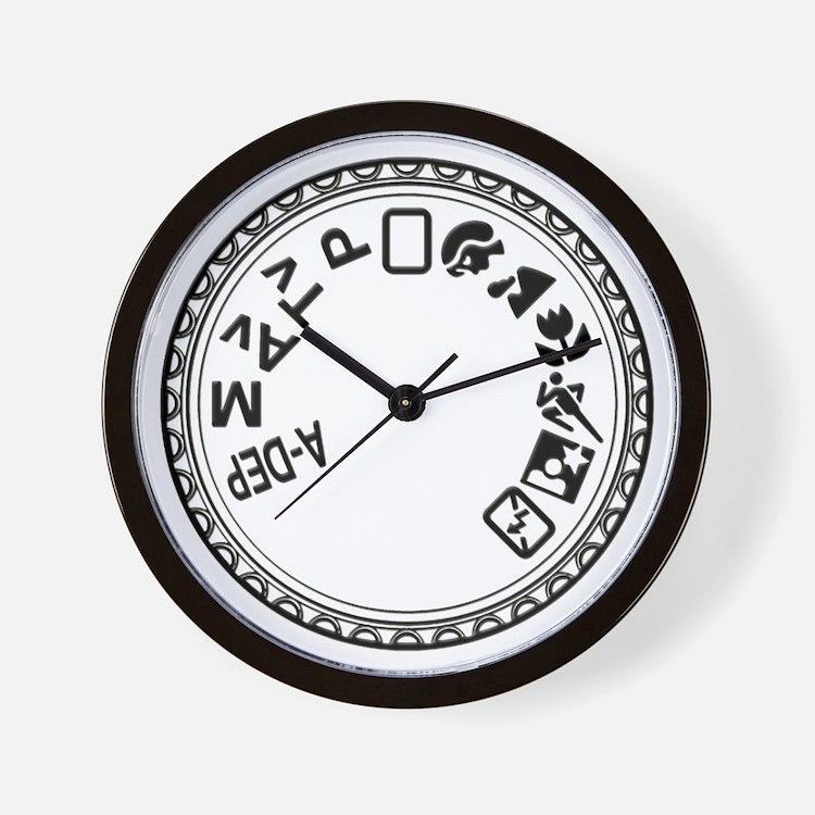 Mode Dial Wall Clock