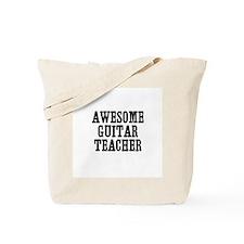 awesome guitar teacher Tote Bag