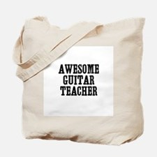 awesome guitar teacher Tote Bag