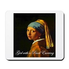Girl with a Pearl Earring Mousepad