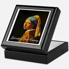 Girl with a Pearl Earring Keepsake Box