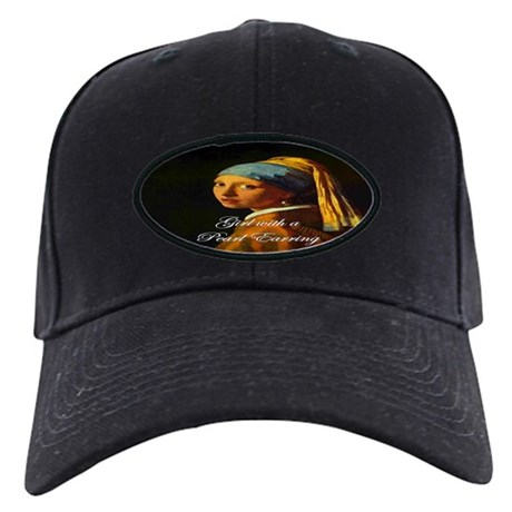 Girl with a Pearl Earring Black Cap