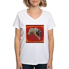 Irish Wolfhound running Shirt