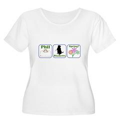 Phil, Shadows, Spring T-Shirt