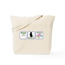 Phil, Shadows, Spring Tote Bag