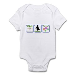 Phil, Shadows, Spring Infant Bodysuit