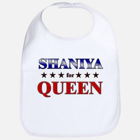 SHANIYA for queen Bib