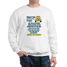 Cute School bus driver Sweatshirt