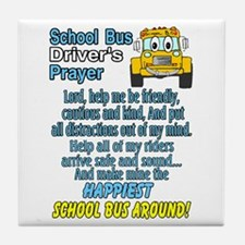 Unique Schoolbus Tile Coaster
