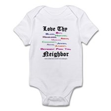 Love Thy Neighbor Infant Bodysuit