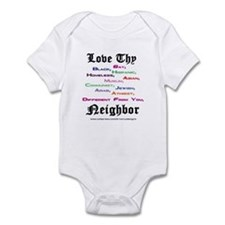 Love Thy Neighbor Onesie