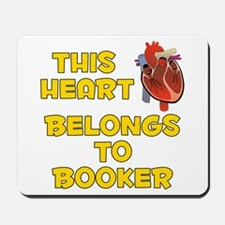 This Heart: Booker (A) Mousepad