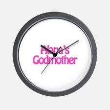 Alana's Godmother Wall Clock