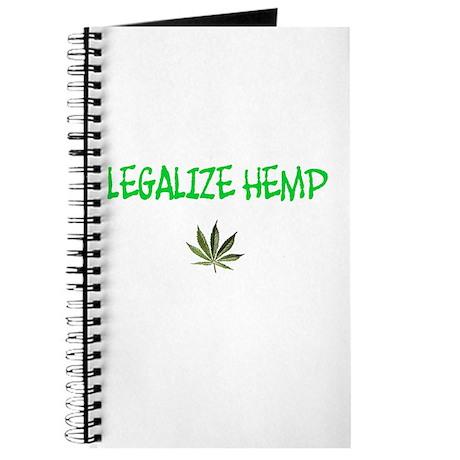 """""""Legalize Hemp"""" Journal"""