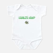 """Legalize Hemp"" Infant Bodysuit"