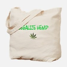 """Legalize Hemp"" Tote Bag"
