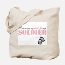Saving my xoxo for my Soldier Tote Bag