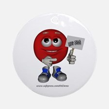 """""""Support Stem Cells"""" Ornament (Round)"""