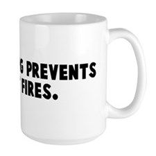 Strip mining prevents forest  Mug