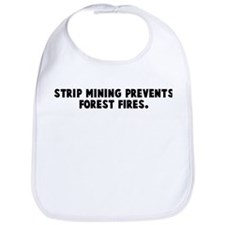 Strip mining prevents forest  Bib