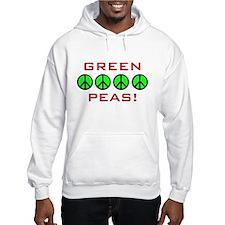 Green Peas, Green Peace Hoodie