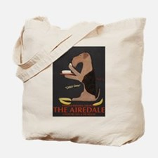 The Airedale Tote Bag