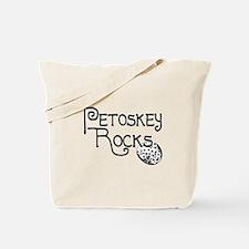 Petoskey Rocks! -petoskeyrock Tote Bag
