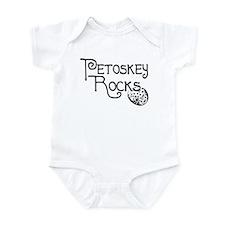 Petoskey Rocks! -petoskeyrock Infant Bodysuit