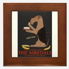 The Airedale Framed Tile