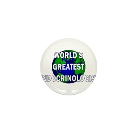 World's Greatest Endocrinolog Mini Button (100 pac