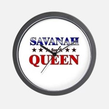 SAVANAH for queen Wall Clock
