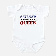 SAVANAH for queen Infant Bodysuit