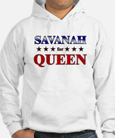 SAVANAH for queen Hoodie Sweatshirt