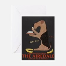 The Airedale Greeting Card