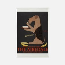 The Airedale Rectangle Magnet (10 pack)