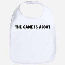 The game is afoot Bib