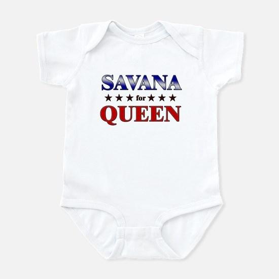 SAVANA for queen Infant Bodysuit