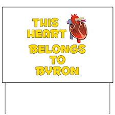 This Heart: Byron (A) Yard Sign
