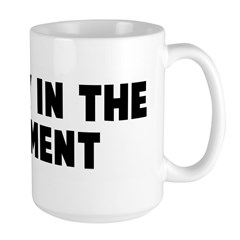 The fly in the ointment Large Mug