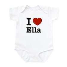 I love Ella Infant Bodysuit