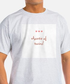 Auntie of twins! T-Shirt