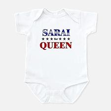SARAI for queen Infant Bodysuit