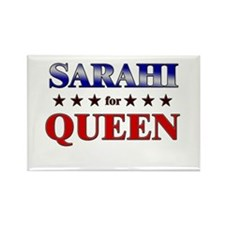 SARAHI for queen Rectangle Magnet