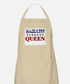 SARAHI for queen BBQ Apron
