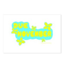 DUE IN NOVEMBER Postcards (Package of 8)