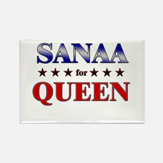 SANAA for queen Rectangle Magnet