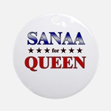 SANAA for queen Ornament (Round)