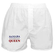 SAMARA for queen Boxer Shorts
