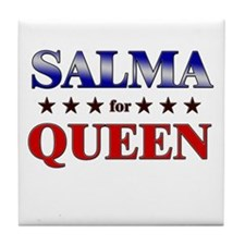SALMA for queen Tile Coaster