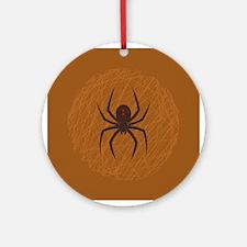 Spider's Web Ornament (Round)